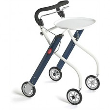 Let's Go Indoor Rollator Blauw/Wit