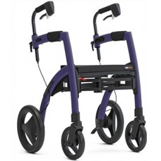 Rollz Motion² Rollator/Rolstoel Dark Purple