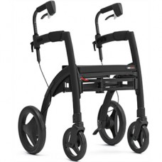 Rollz Motion² Rollator/Rolstoel Matt Black