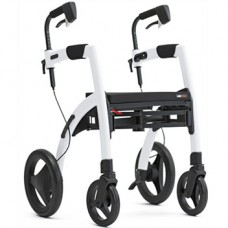 Rollz Motion² Rollator/Rolstoel Pebble White
