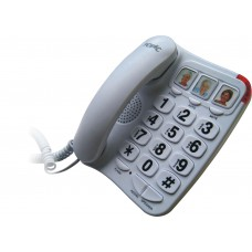 Big Button telefoon wit